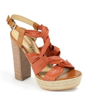 LUXURY REBEL Jen  Espadrille Heels Sandals